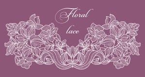 Feld lace-like Stockfoto
