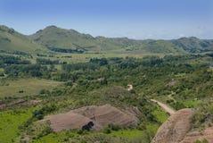 Feld-Landschaft Stockbild