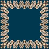 Feld mit abstraktem Muster Stockbild