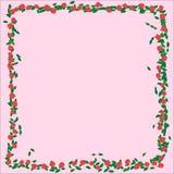 Feld mit Rosen vektor abbildung