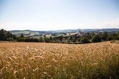 Feld - Muehlviertel, Österreich Lizenzfreie Stockfotos