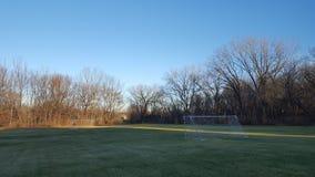 Feld am Park Lizenzfreies Stockbild