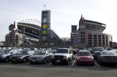Feld Seattle Seahawk Centurylink Lizenzfreie Stockfotos