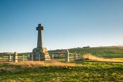 Feld und Monument Flodden Lizenzfreie Stockfotografie