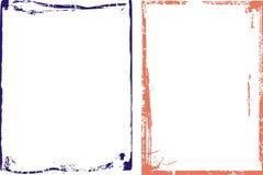 Feld-und Rand-Serie Lizenzfreies Stockbild