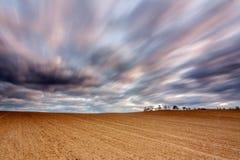 Feld und Wind Stockfotos