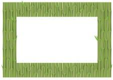 Feld vom Bambus verzweigt sich Partikel Stockbild