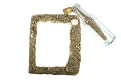 Feld vom Sand Lizenzfreie Stockbilder