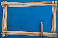 Feld von bereiten das Papier auf, das mit Freiexemplarraum für Ihren Text geschnitten wird Stockbilder