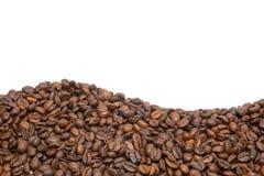 Feld von den Kaffeebohnen Lizenzfreie Stockfotos