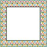 Feld von farbigen Polygonen Stockfoto