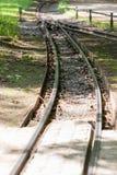 Feldbahn im Großen Garten von Dresden lizenzfreie stockfotografie