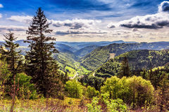 Feldberg berg i vår Royaltyfri Foto