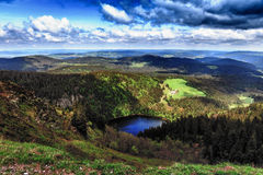 Feldberg-Berg im Frühjahr Lizenzfreies Stockbild