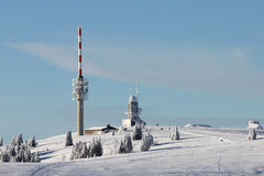 Feldberg Germany Mountain Peak Stock Images