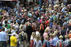 Feldberg, Laurentius Festival, Alemanha Imagem de Stock Royalty Free