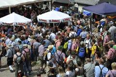 Feldberg, Laurentius Festival, Duitsland Stock Afbeeldingen