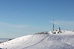Feldberg Mountain Peak, Blackforest - Germany Royalty Free Stock Images
