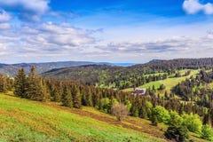 Feldberg Mountain in Spring Stock Images