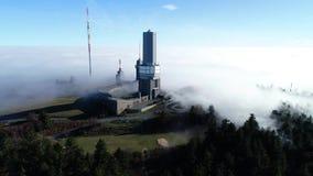 Feldberg plateau, Taunus góry, Niemcy - trutnia materiał filmowy, widok z lotu ptaka zdjęcie wideo