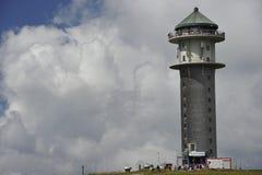 Feldbergturm (=Feldberg wierza), Czarny las, zarazek Fotografia Royalty Free
