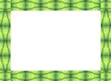 Felddesign von Palmenfronten Stockbild