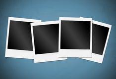 Felder der sofortigen Kamera Stockfotografie