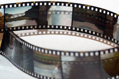 Felder des Plättchenfilmes Lizenzfreies Stockfoto