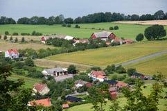 Ländliche Landschaft Stockbilder