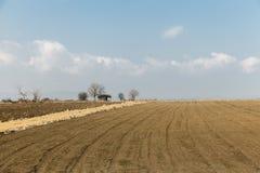 Felder und Wiesen Lizenzfreies Stockbild