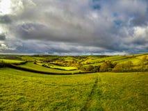 Felder von England Lizenzfreies Stockfoto