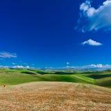 Felder von Sizilien Stockfoto