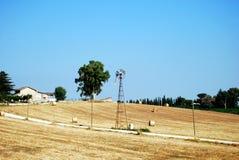 Felder von Velletri lizenzfreies stockbild