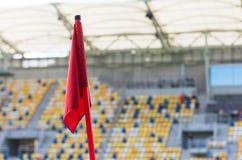 Feldflagge in der Feldecke Stockbild