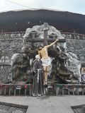 Feldgeistliche Pio Shrine stockbilder