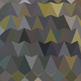 Feldgrau Gray Abstract Low Polygon Background Royalty-vrije Illustratie