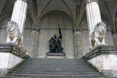 Feldherrnhalle in Munich Royalty Free Stock Image