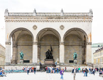 feldherrnhalle Munich Zdjęcia Royalty Free