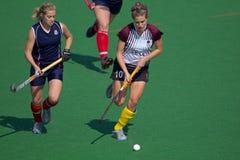 Feldhockey der Frauen Stockfoto