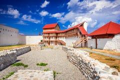 Feldioara堡垒,特兰西瓦尼亚-罗马尼亚 库存图片
