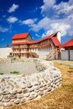 Feldioara堡垒,特兰西瓦尼亚-罗马尼亚 免版税库存照片