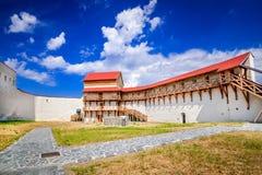 Feldioara堡垒,特兰西瓦尼亚-罗马尼亚 免版税库存图片