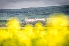 Feldioara fortress near Brasov, Romania, also known as Marienburg. The most important Teuton Knights fortress in Transylvania royalty free stock photos