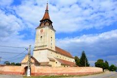 Feldioara (Marienburg) fortified church Stock Photo