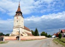 Feldioara (Marienburg) fortified church Royalty Free Stock Images