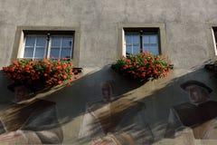 Feldkirch, Voralberg,奥地利 库存照片
