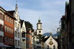 Feldkirch, Voralberg,奥地利 免版税库存图片