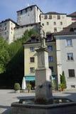 Feldkirch Österrike royaltyfria foton