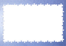 Feldpuzzlespielstücke Stockbilder