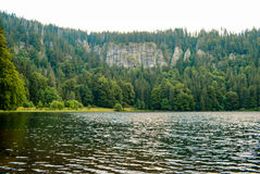 Feldsee in Germany Feldberg Royalty Free Stock Photography